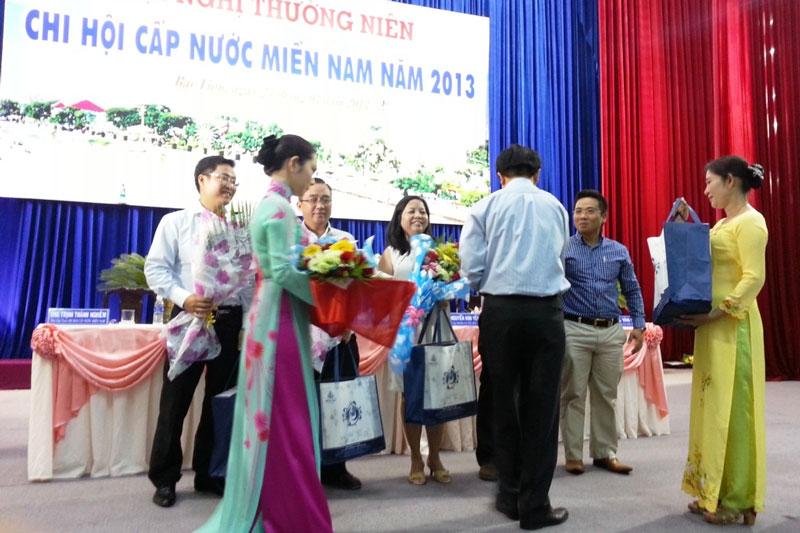 Hội nghị thường niên Chi hội Cấp nước miền Nam năm 2013 tại Bạc Liêu 3 - Công ty CP Kỹ Thuật Á Châu