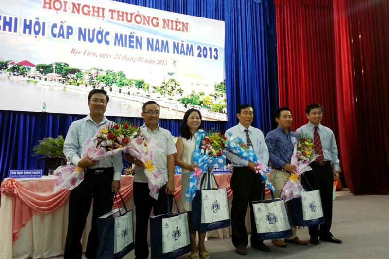 Hội nghị thường niên Chi hội Cấp nước miền Nam năm 2013 tại Bạc Liêu 4 - Công ty CP Kỹ Thuật Á Châu