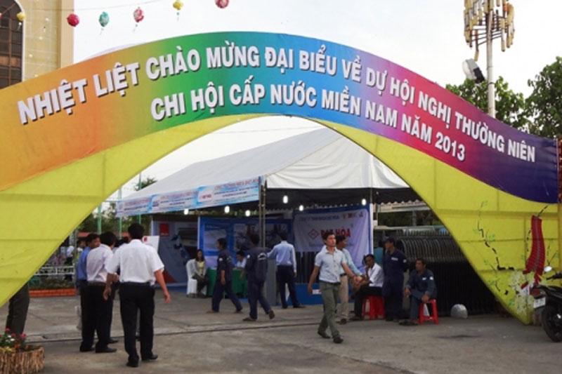 Hội nghị thường niên Chi hội Cấp nước miền Nam năm 2013 tại Bạc Liêu - Công ty CP Kỹ Thuật Á Châu