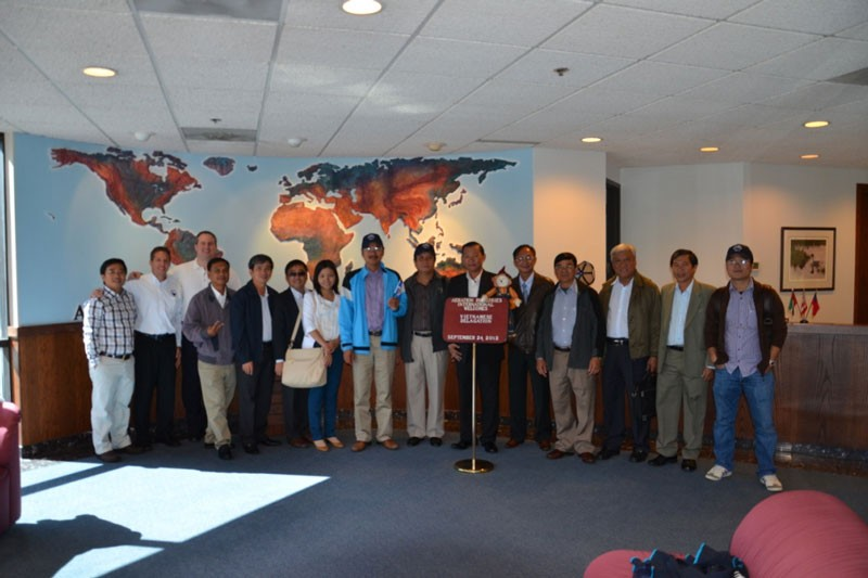 Chuyến Tham Quan, Làm Việc Của Ban Lãnh đạo Á Châu Cùng Với Các Lãnh đạo Công Ty Cấp Thoát Nước